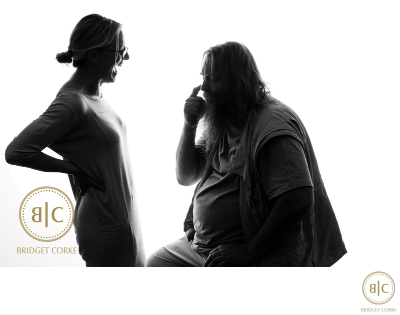 Wilhelm Boschoff & Bridget Corke Studio Photograph