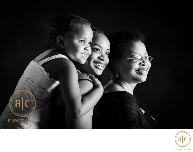 Graca Machel, Josina Machel and Ziga Photographed