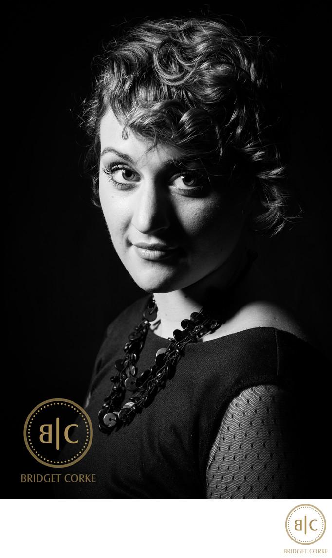Black & White Studio Portrait