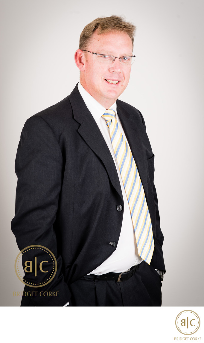 Corporate Portrait of Bruce Schubach