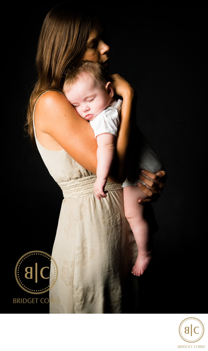 Precious Mother and Baby Photographed in Johannesburg Studio
