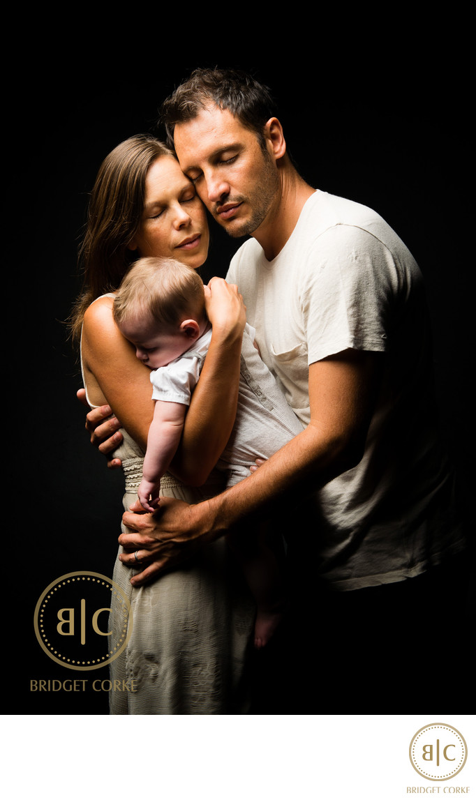 Parent and Baby Shoot Johannesburg Studio