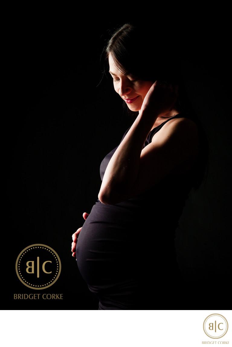 Pregnant Mother Studio Shoot