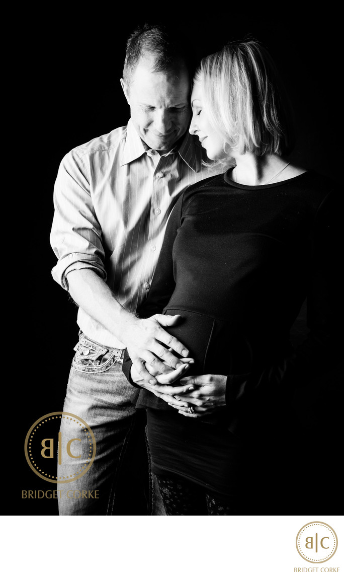 Parent's-to-be Pregnancy Photographic Shoot