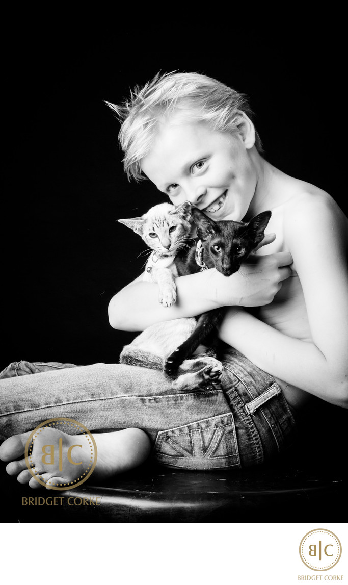 Top Black Oriental and Siamese Kitten Pet Photographer Johannesburg