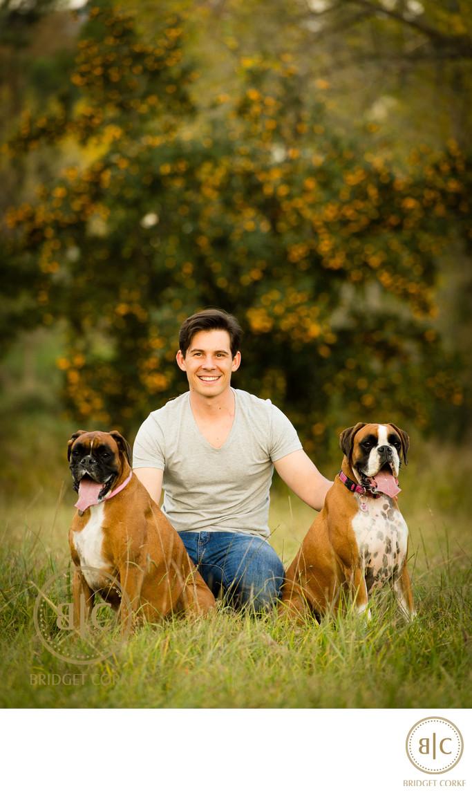 Pet Boxer Location Dog Photographer Johannesburg