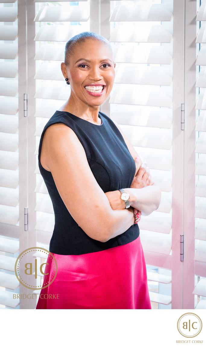 Corporate Portrait of Sindi Mabasa-Koyana