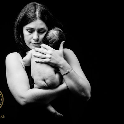 Tender Newborn Photographed In Johannesburg Studio
