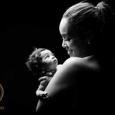 Leanne Dlamini Captured in Newborn Shoot Johannesburg