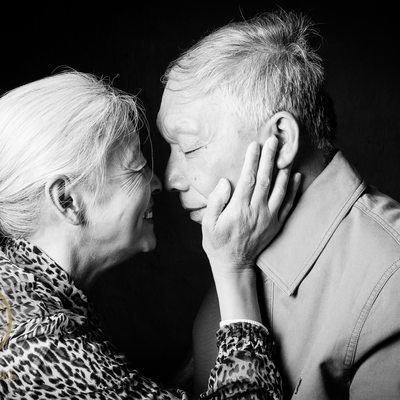 Chinese Grandparents in Studio Shoot