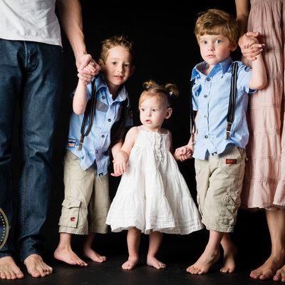 Studio Family Shoot in Johannesburg