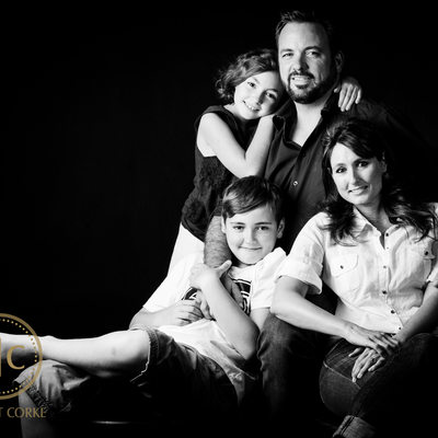 Teenagers and Parents Family Shoot