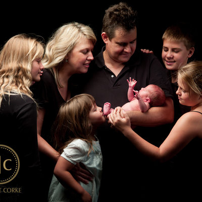 Extended Family Photographed in Studio