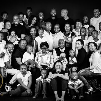 Very Large Family Studio Shoot Johannesburg