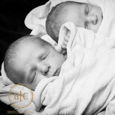 Newborn Twins Captured by Bridget Corke Photography