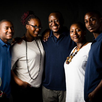 Adult Family Photographed by Bridget Corke