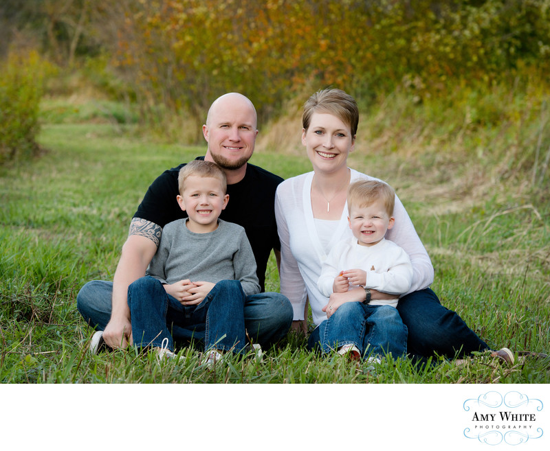 Fall Family Portraits in Cedar Rapids