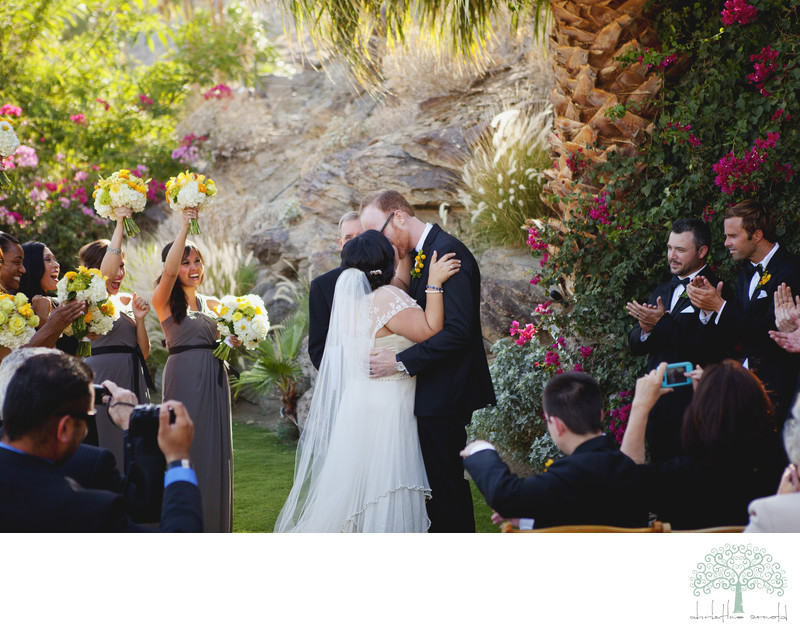 O'Donnell House Palm Springs Wedding