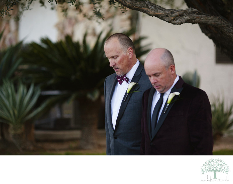 Same Sex wedding photography Palm Springs