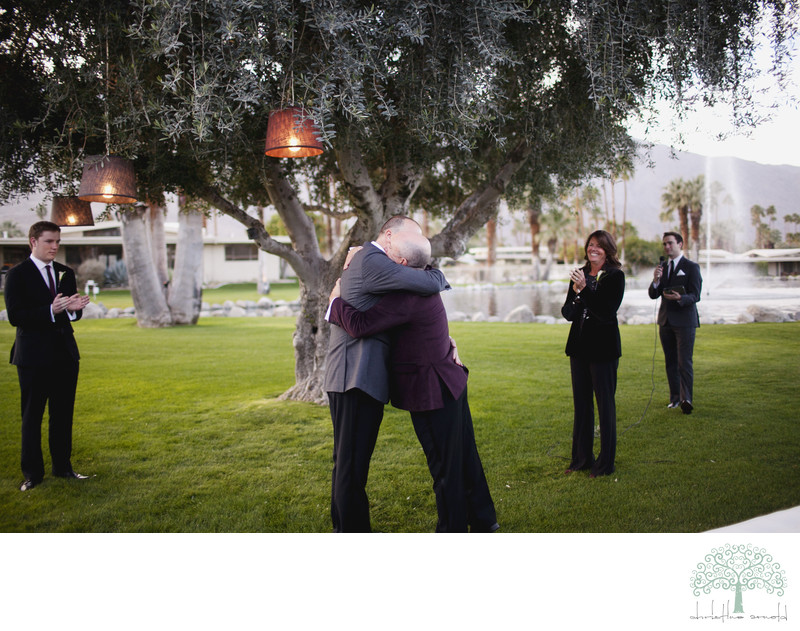 Gay wedding in Palm Springs