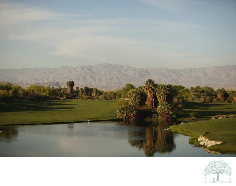 Palm Desert Golf Course Wedding Photography