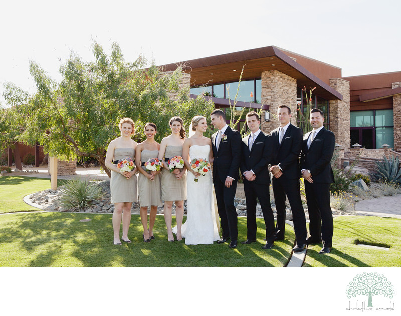 Wedding Party Desert Willow Palm Desert California