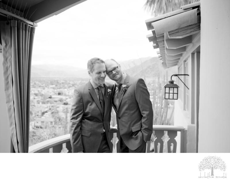 Coachella Valley California LGBT Wedding Photographer