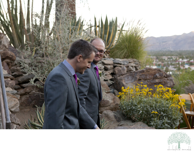 Palm Springs O'Donnell House Wedding California