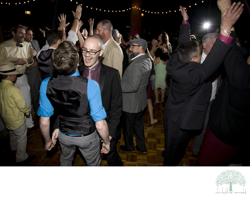 Palm Springs Same sex wedding reception