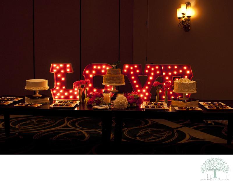 Rancho Mirage Wedding reception photograph