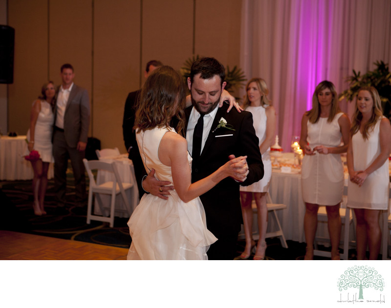 Rancho Mirage Wedding Reception photographer