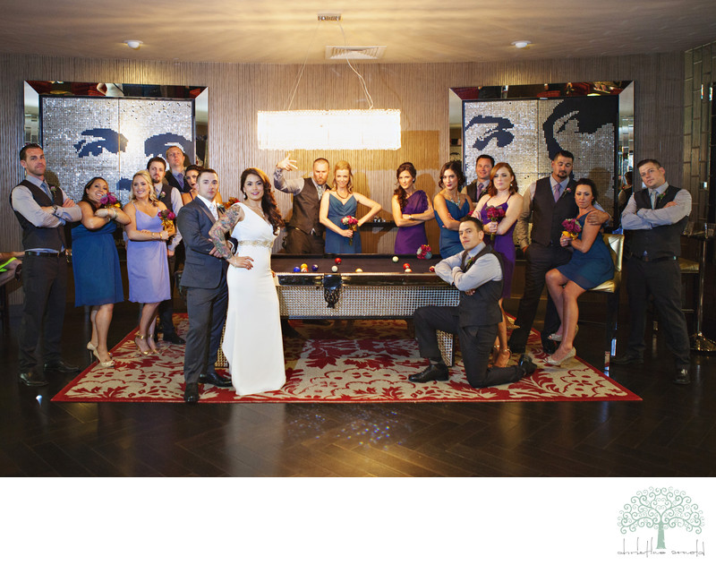 Wedding party Photographer Southern California