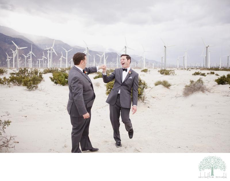 Palm Springs Same Sex Wedding