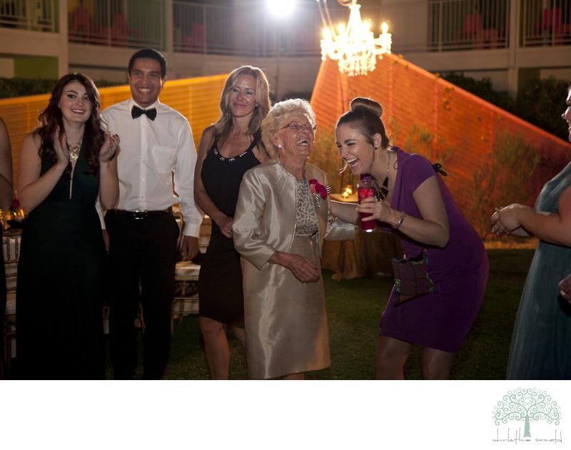 Grandma gets down at Saguaro wedding