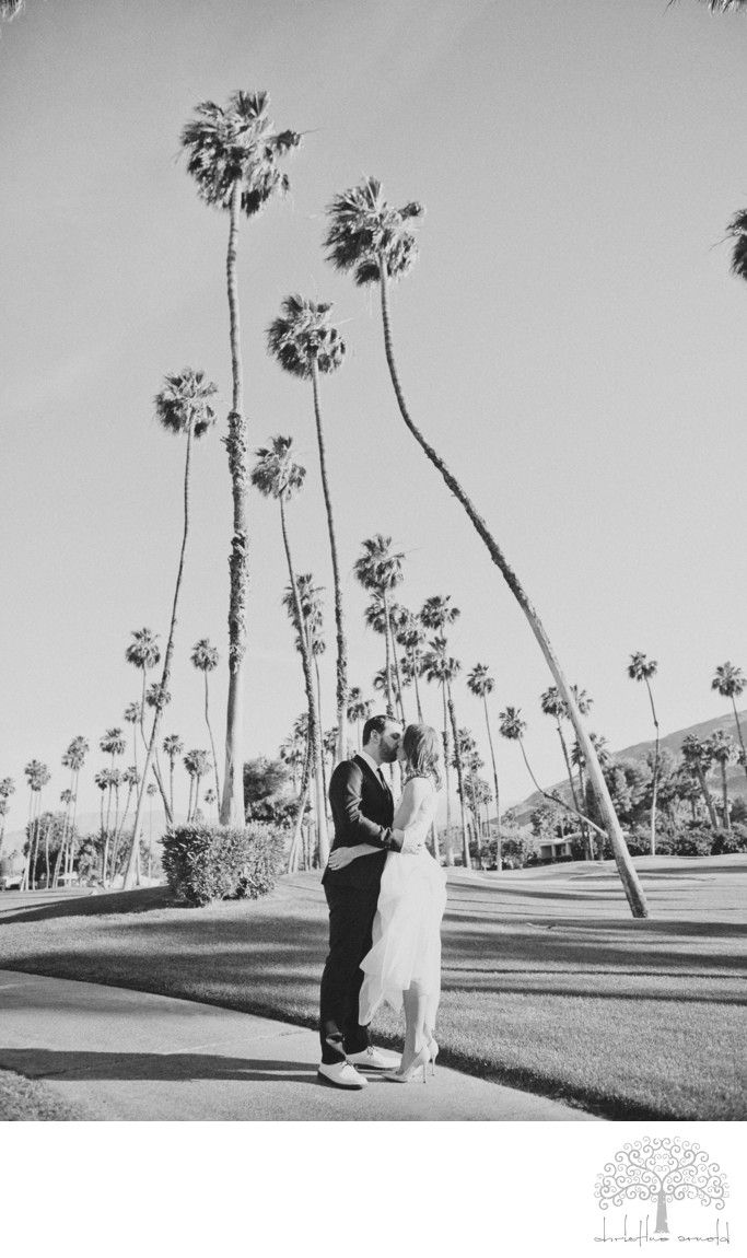 Rancho Mirage Outdoor Wedding Ceremony