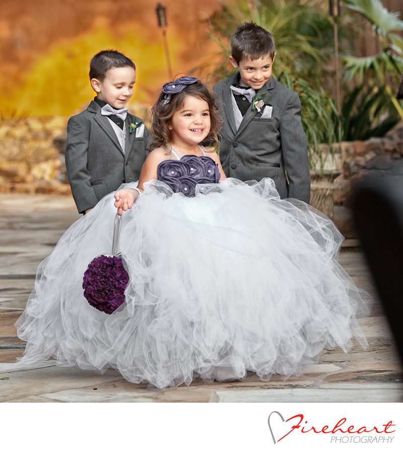 Houston Wedding Photographer - agave Road flower girl