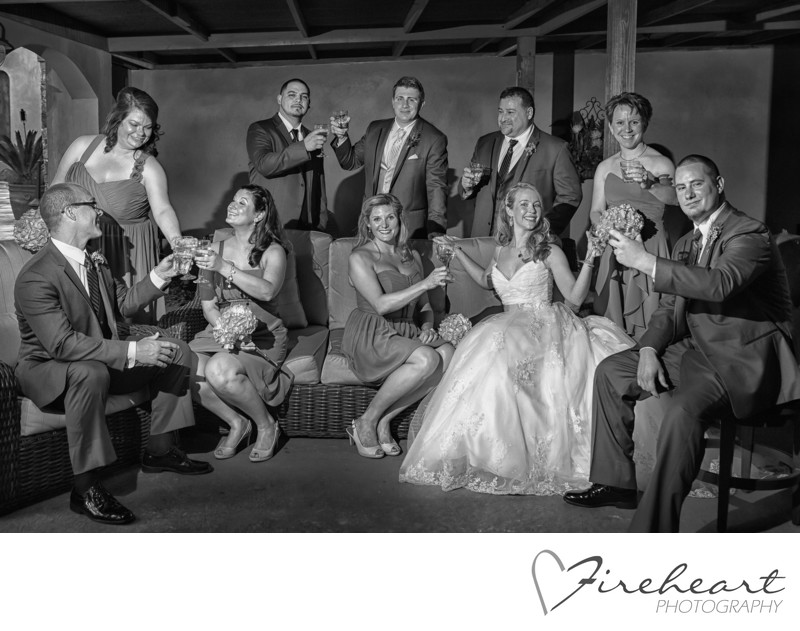 Houston wedding Photographer Black and White Images