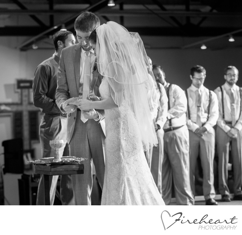Houston Wedding Photographers at The Paper Co