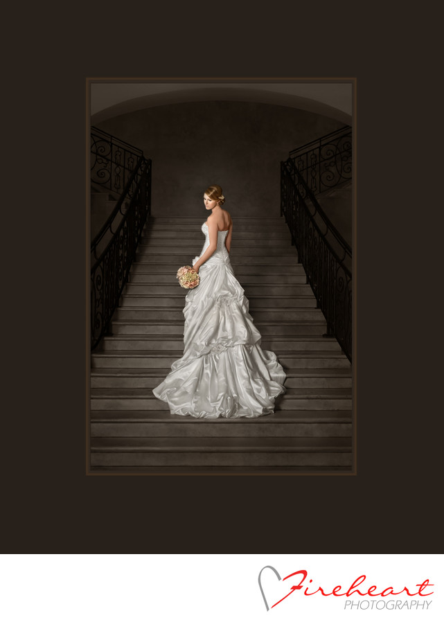 Bell Tower Wedding Photographers creating stunning bridal portraits
