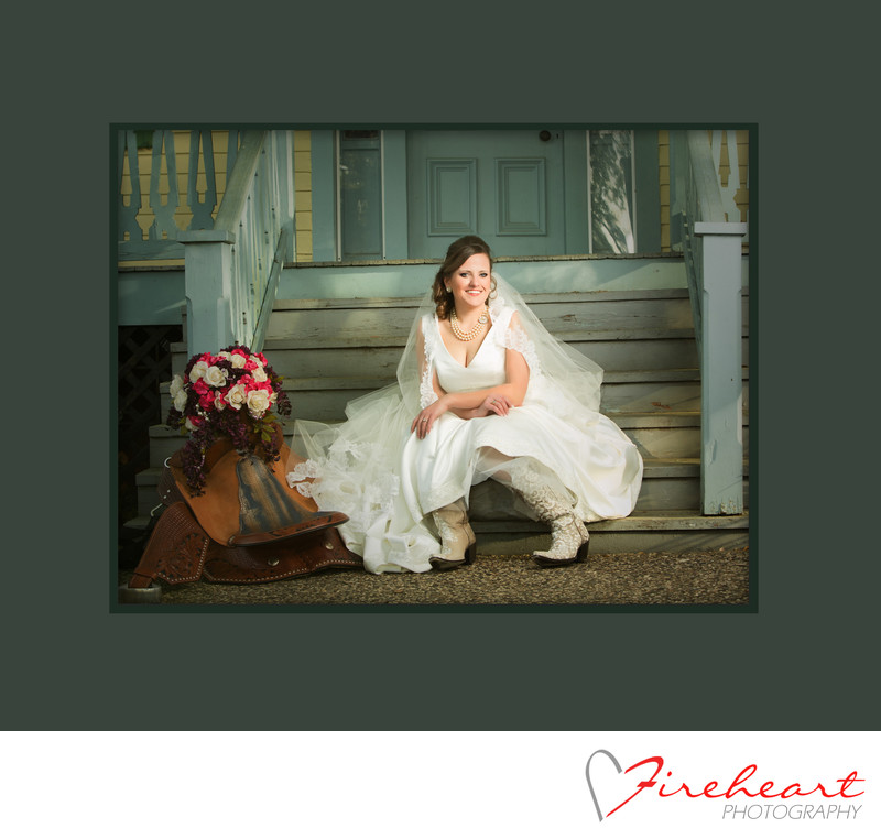 Custom Bridal Portraits by Houston Wedding Photographers -