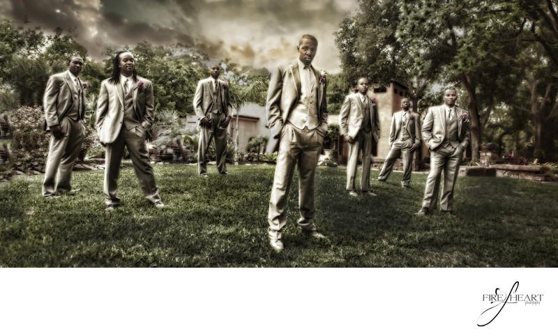 Houston Wedding Photographers Groomsmen