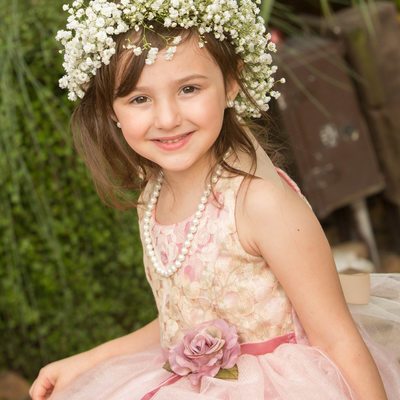 Houston wedding photographers flower girl