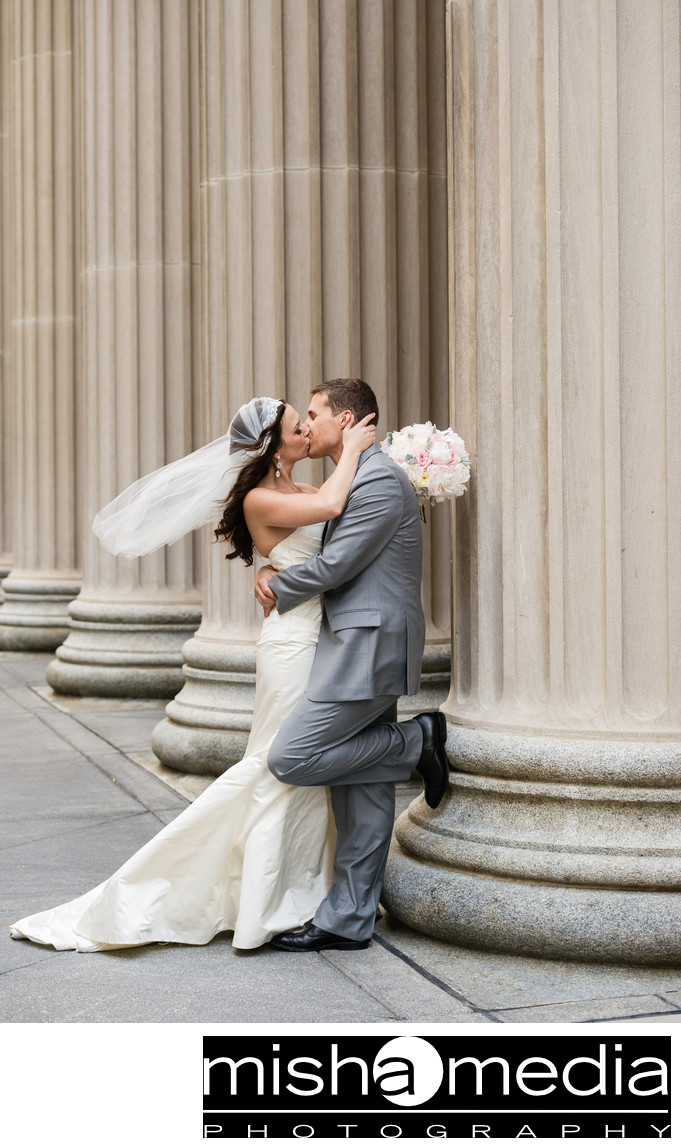wedding photos on lasalle street