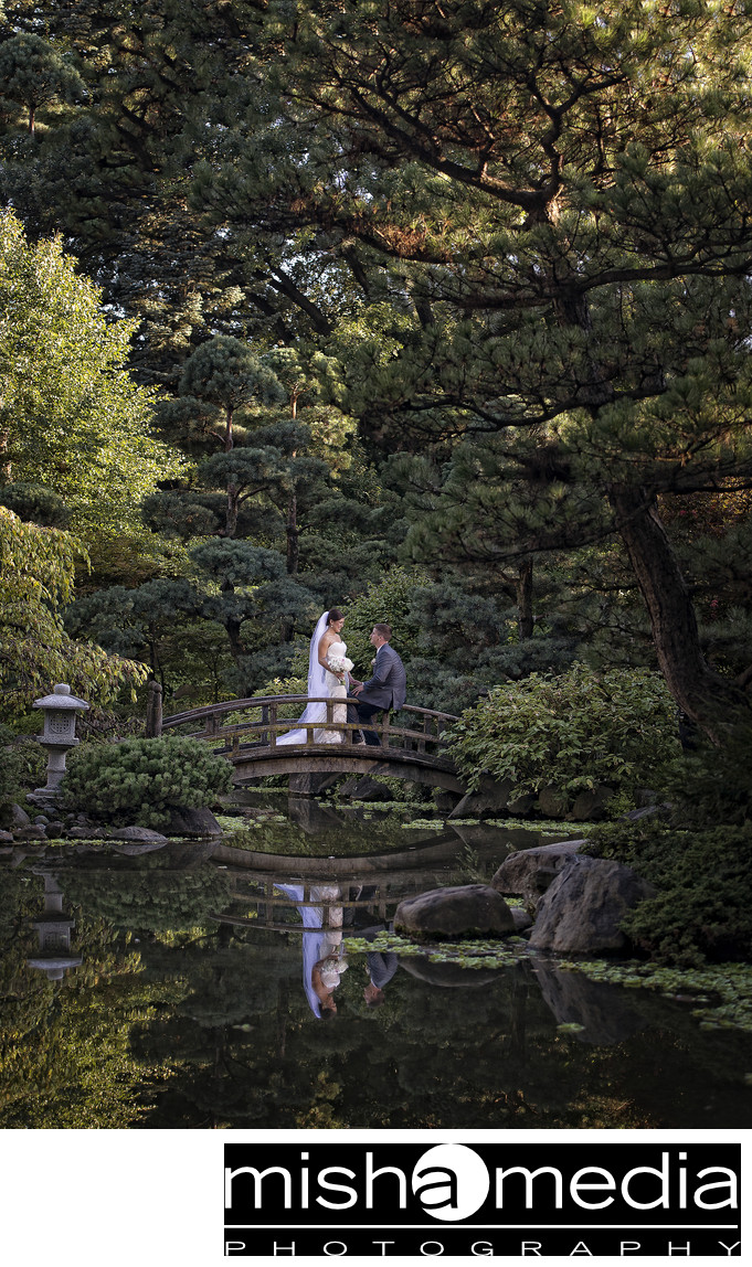 Anderson Japanese Gardens Wedding Photos