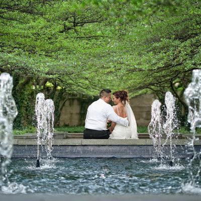 Art Institute wedding pictures