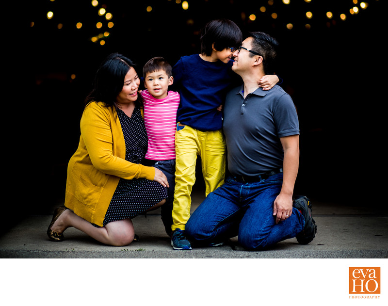 Photographer Eva Ho and Her Family at Lincoln Park Zoo