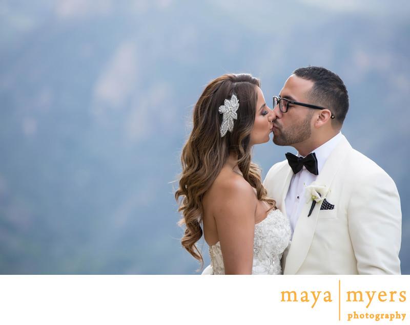 Malibu Rocky Oaks Bride Groom Wedding