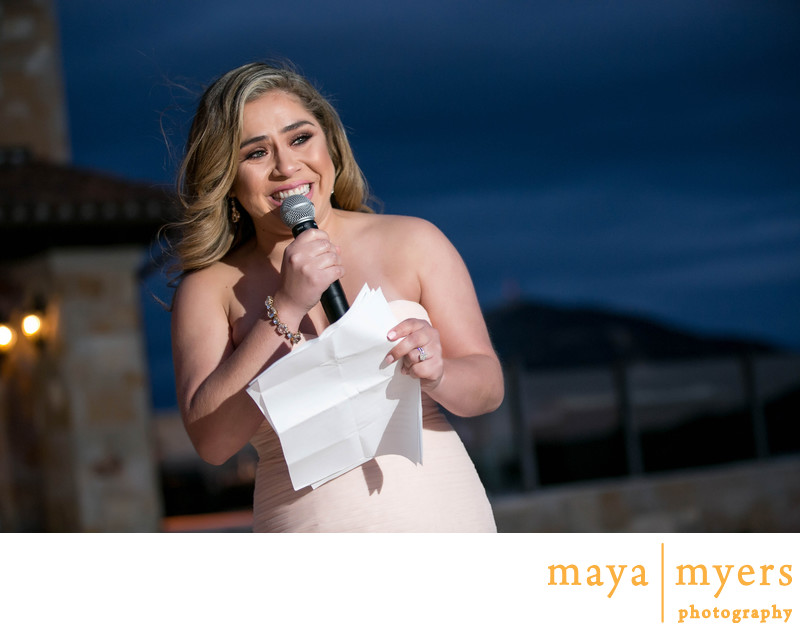 Wedding Toasts Malibu Rocky Oaks