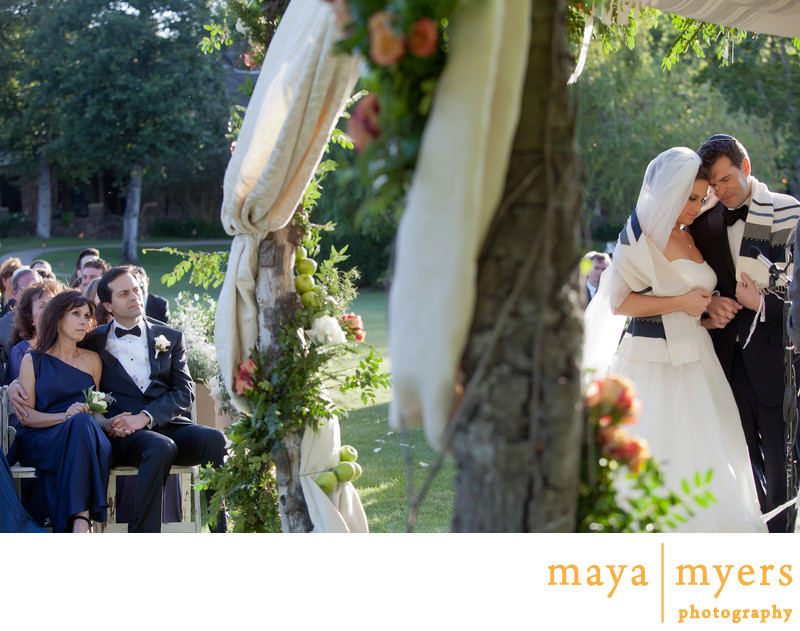Jewish Wedding Ceremony Malibu Rocky Oaks