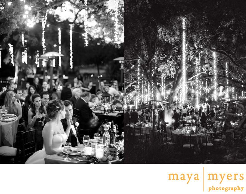 Garden Wedding Reception Malibu CA